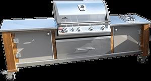 Outdoorküche Lux mit Napoleon Grill BI 605