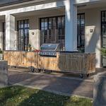 Ouutdoor Küche Country - Außenansicht im Garten
