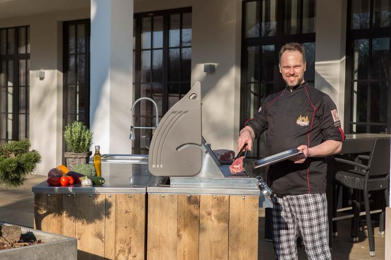 Outdoor-Küche für die Gastronomie 1