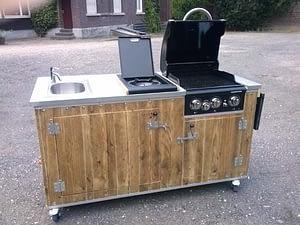 Unsere mobilen Gartenküchen 3