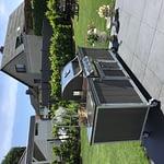 Outdoor-Küche Iron mit WPC Kunststoff