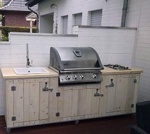 Unsere mobilen Gartenküchen 5