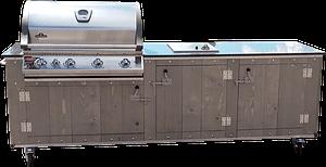 Outdoorküche Country grey