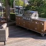 Outdoor-Küche Country mit Napoleon Gasgrill Bilex 605