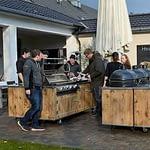 Outdoor-Küchen Grillstation für Gastronomie