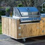Outdoor-Küchen Gastronomie Modell Country für Restaurant mit Napoleon Gas-Grill Bilex 605