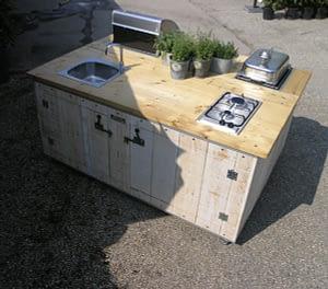 Unsere mobilen Gartenküchen 4