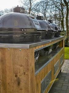 Aussenküchen für Gastronomie mit Mehrfach-Grill