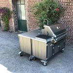 2-teilige Außenküche Iron